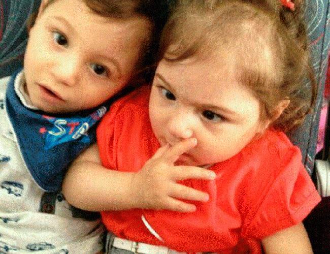Давид и Даниэла Оганесян
